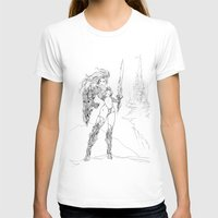 anime T-shirts featuring Anime 2 by Prince Of Darkness