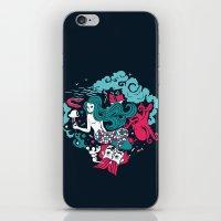 Rêve marin iPhone & iPod Skin