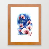 Orchids Framed Art Print