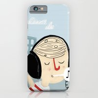 iPhone & iPod Case featuring Chillin' by monrix