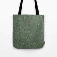 Blue/Green Dot Color Des… Tote Bag