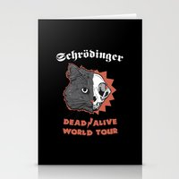 Schrödinger - DEAD/ALIVE World Tour Stationery Cards