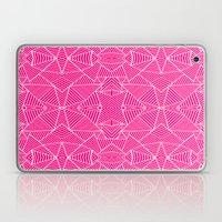 Ab Zoom Mirror Fushia Laptop & iPad Skin
