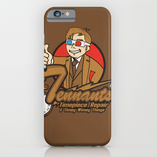 Tennants Timepiece Repair iPhone & iPod Case
