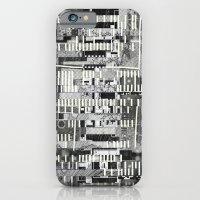Exploiting Digital Behavior (P/D3 Glitch Collage Studies) iPhone 6 Slim Case