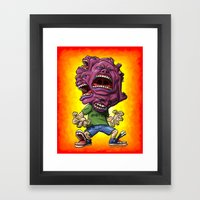 Not Enough Mouths To Scr… Framed Art Print