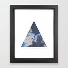 geometry. Framed Art Print