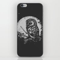 Friend of the Night iPhone & iPod Skin