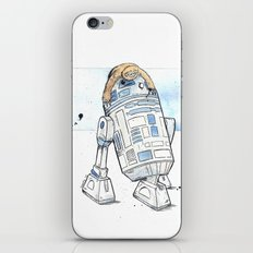 R2 and His Baby Sloth iPhone & iPod Skin