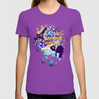 Chaos Womens Fitted Tee Ultraviolet SMALL