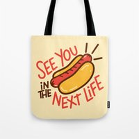 Eternal Hot Dog Tote Bag