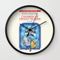 It's Time For An Adventure! Wall Clock
