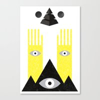 PYRAMIDº Canvas Print
