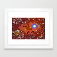 Cosmic Atlas Framed Art Print