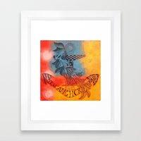 You Anchor Me  Framed Art Print