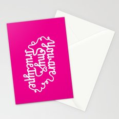 True Type. Stationery Cards