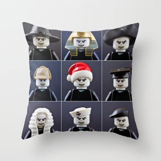 Voldemort Cosplay Throw Pillow