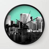 City Skyline Wall Clock