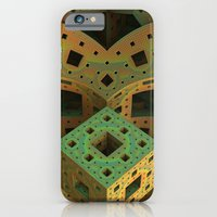 iPhone Cases featuring Puzzle Box by Lyle Hatch
