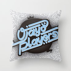 Ojayo Players logo 1 Throw Pillow