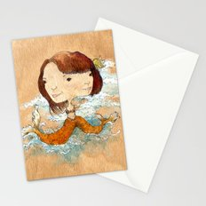 double you waves Stationery Cards