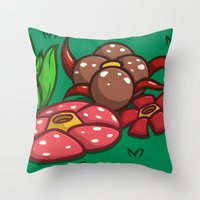 Pokemon: This Garden Is … Throw Pillow