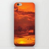 Soak up the sun. iPhone & iPod Skin