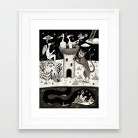 Scissors, String And Sol… Framed Art Print