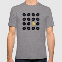 Polka Dot To Do List Mens Fitted Tee Tri-Grey SMALL