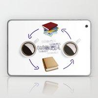 Coffee And Books - Recipe For Success Guaranteed  Laptop & iPad Skin