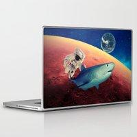 shark Laptop & iPad Skins featuring Shark by Cs025