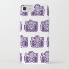 I Still Shoot Film Holga Logo - Deep Purple iPhone 7 Slim Case
