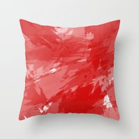 RED HOT CHILI PRINT Throw Pillow