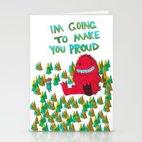 I'm Going To Make You Pr… Stationery Cards
