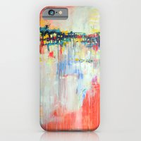 on the water,  expressive landscape, abstract iPhone 6 Slim Case