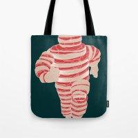 Pork Michelin Tote Bag