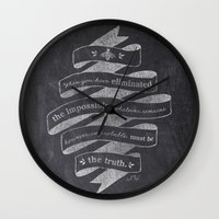 The Truth Wall Clock