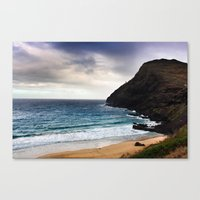 Canvas Print featuring Lighthouse @ Oahu by Vanessa Selene