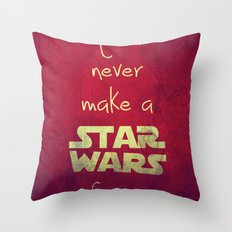NoNoNo Throw Pillow