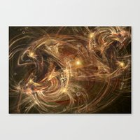 A Christmas Tale Canvas Print