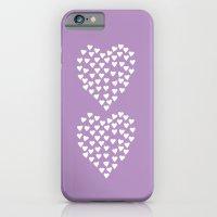 Hearts Heart X2 Radiant … iPhone 6 Slim Case
