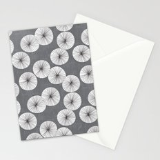 Umbrellas by Friztin Stationery Cards