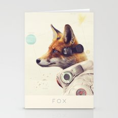 Star Team - Fox Stationery Cards
