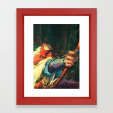 The Young Man From The E… Framed Art Print