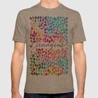 Imagine [Collaboration with Garima Dhawan] Mens Fitted Tee Tri-Coffee SMALL