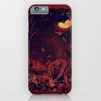 Night at the Origami Garden iPhone 6 Slim Case