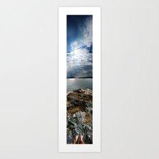 Sweden - Vertical Panorama Art Print