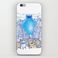 Monster In The City iPhone & iPod Skin
