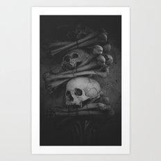 Sedlec Art Print