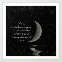 You, As Much As Anyone..… Art Print
